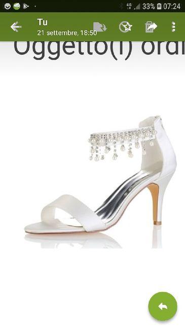 Scarpe da sposa comode 1