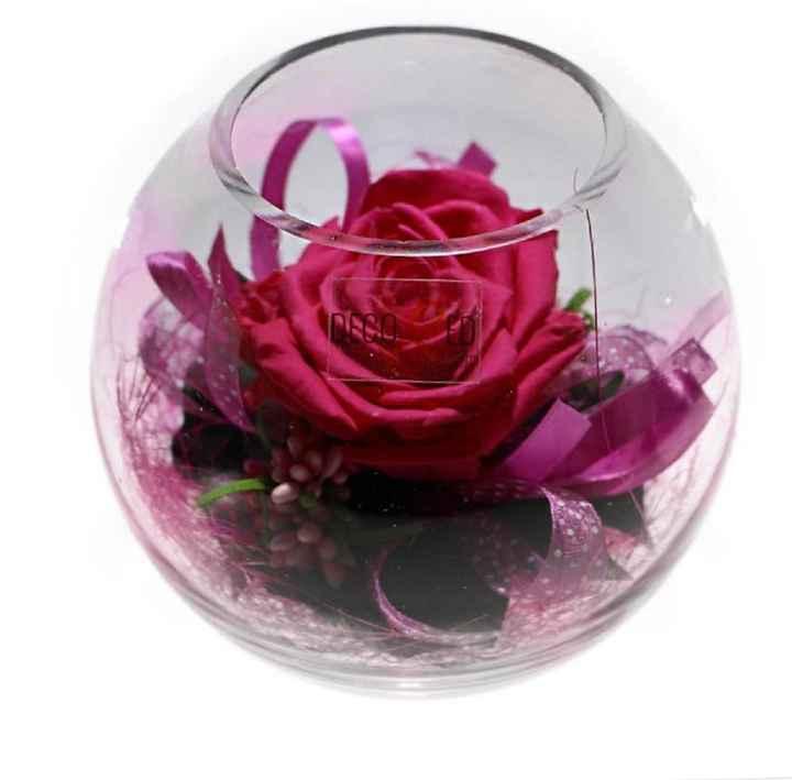 Bomboniere con rose stabilizzate - 4