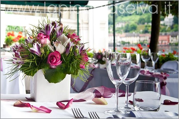 Matrimonio In Viola : Matrimonio in rosa e viola per angela foto