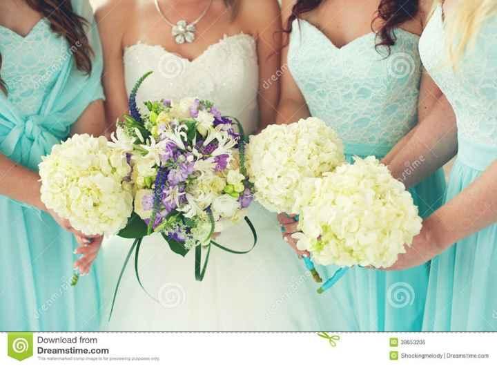 Damigelle e fiori