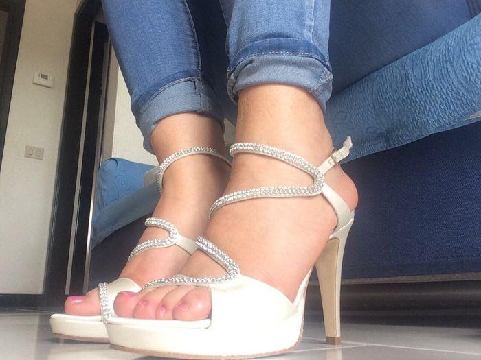 Le mie scarpe per il giorno del si - 1