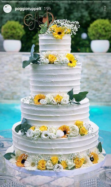Idea per Torta nuziale, vi piace? 2
