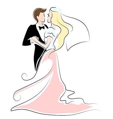 Sposi stilizzati disegni imagui for Sposi immagini