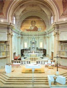 Chiesa San Martino Bollate interno