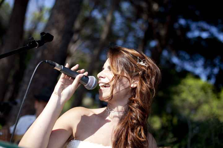 Sposa cantante