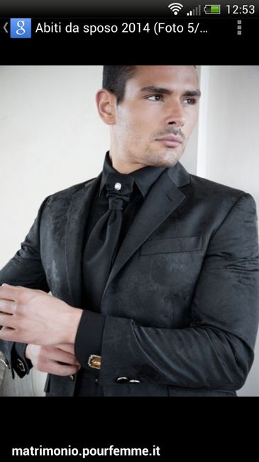 Total Black Uomo Matrimonio : Sposo total black pagina moda nozze forum