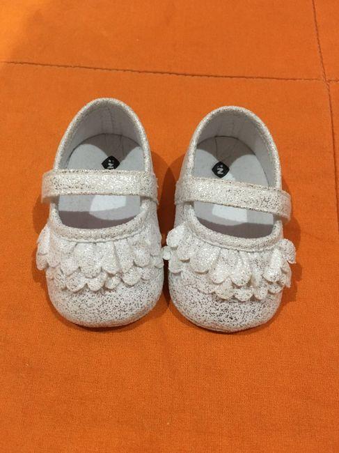 Taglia scarpe neonato 2