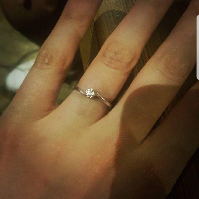 Anello di fidanzamento? Diamo il via alle foto più brillanti del 2018! =d 9