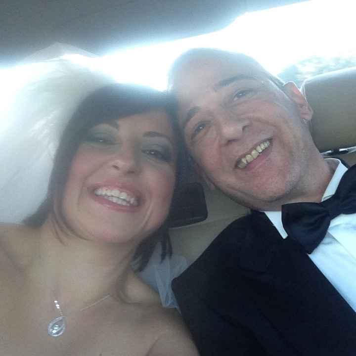 Primo selfie da sposati!! e i vostri???????? - 1
