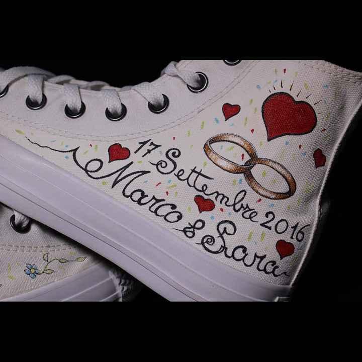Scarpe personalizzate sposa - 1