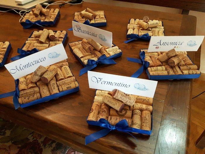 spesso Tema vino :) - Organizzazione matrimonio - Forum Matrimonio.com FD89