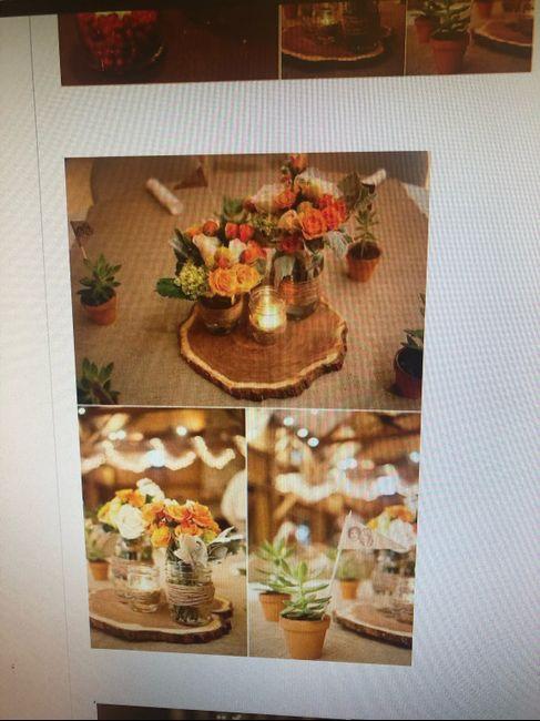 Centro tavola Tema vino/autunno - 5