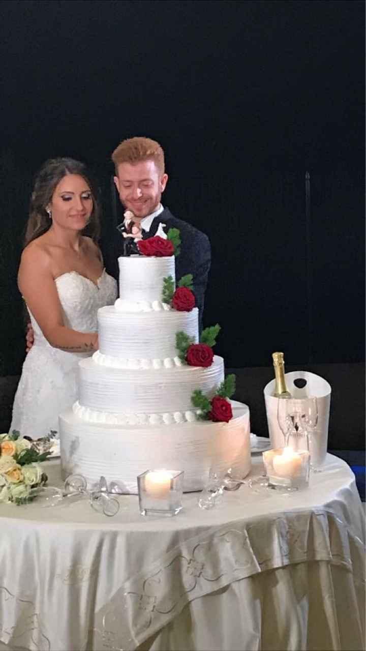 Quanto è stata o sarà alta la vostra torta di nozze? - 1