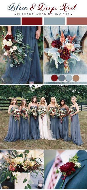 Palette colori matrimonio spiegata alla fiera degli sposi! 8