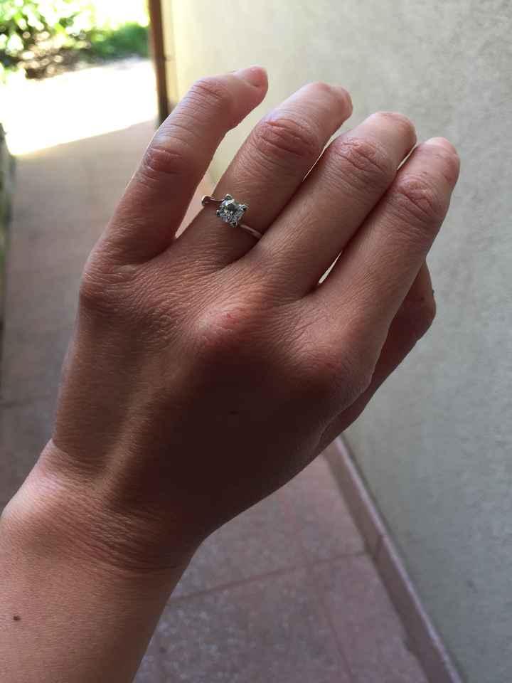 Anello di fidanzamento? Diamo il via alle foto più brillanti del 2018! =d - 1