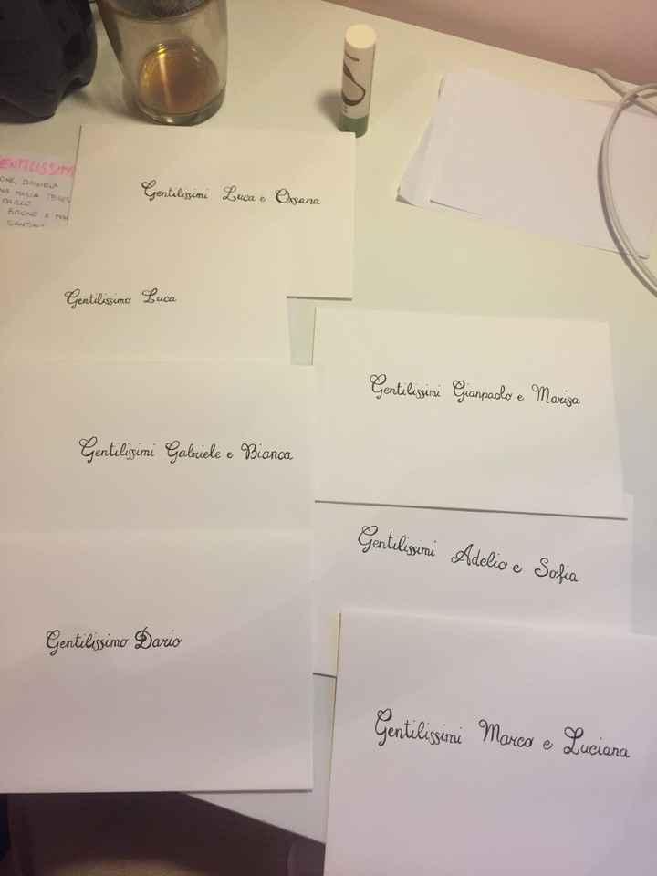 Tutorial: Scivere i nomi sulle buste con bella grafia - 1
