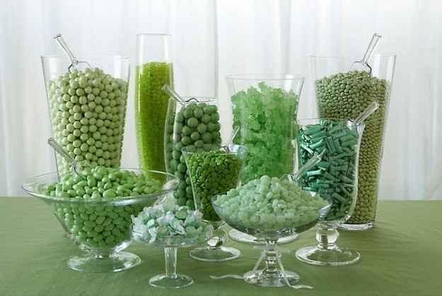 Confetti verdi