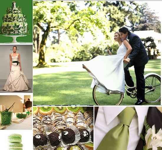 matrimonio in verde...
