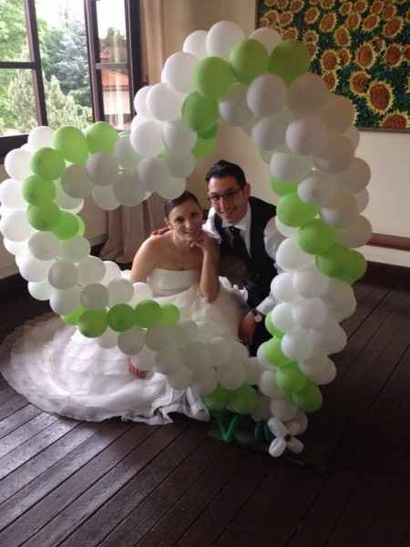 Allestimenti matrimonio verde mela - 7