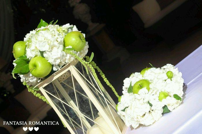 Club della sposa verde pagina 4 forum - Decorazioni mela ...