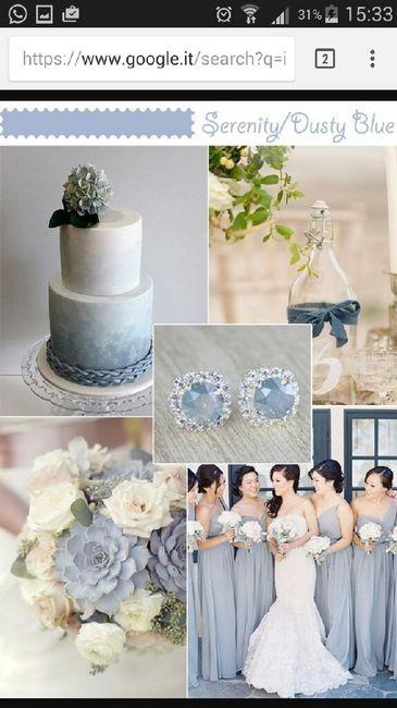 Azzurro Polvere Colore Matrimonio : Azzurro polvere e ne dite organizzazione