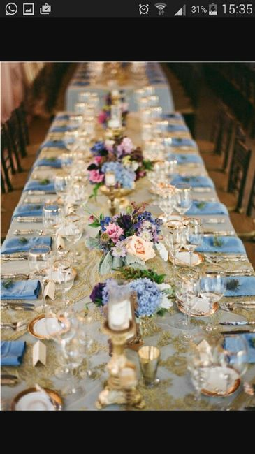Tema Matrimonio Azzurro Polvere : Azzurro polvere e ne dite organizzazione