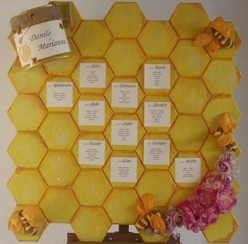 Tableau centrotavola e segnaposto help ricevimento - Diversi tipi di api ...