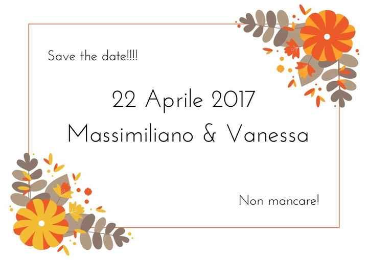 Save the date... ci piace!