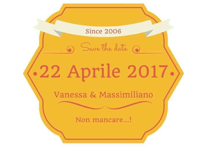 Seconda prova save the date