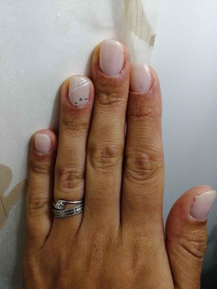 Oggi unghiette dall'estetista mia di fiducia super brava ❤️ - 2