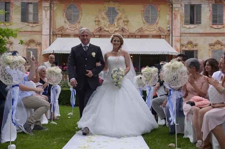 Entrata della sposa!!