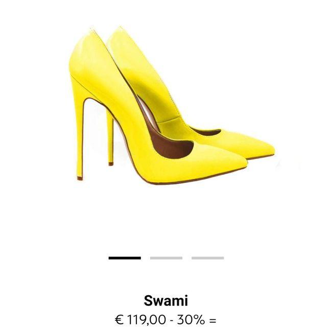 Scarpe gialle... Aiuto! 6