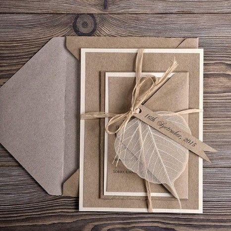Che tipo di carta sceglieresti per le tue partecipazioni di nozze? ✉ 3