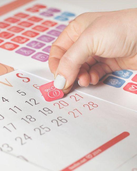 Ottieni gli sticker per il tuo calendario! 1