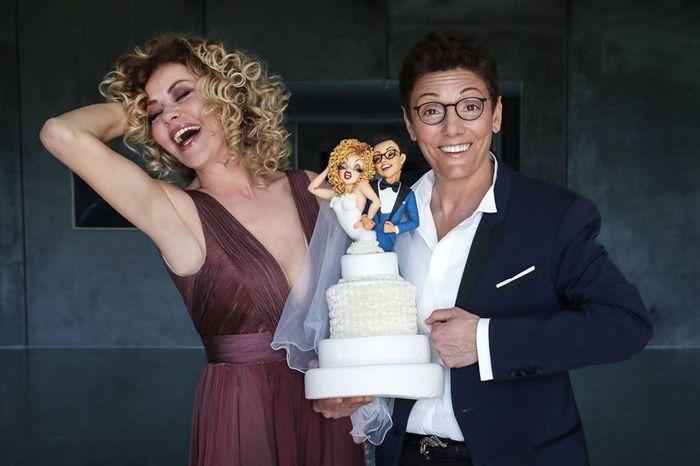 Eva Grimaldi e Imma Battaglia promesse spose! 1