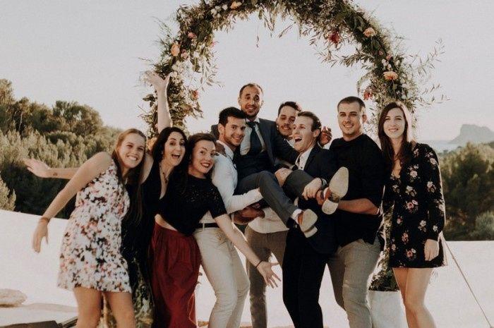 L'album fotografico del tuo matrimonio: la foto dei testimoni 1