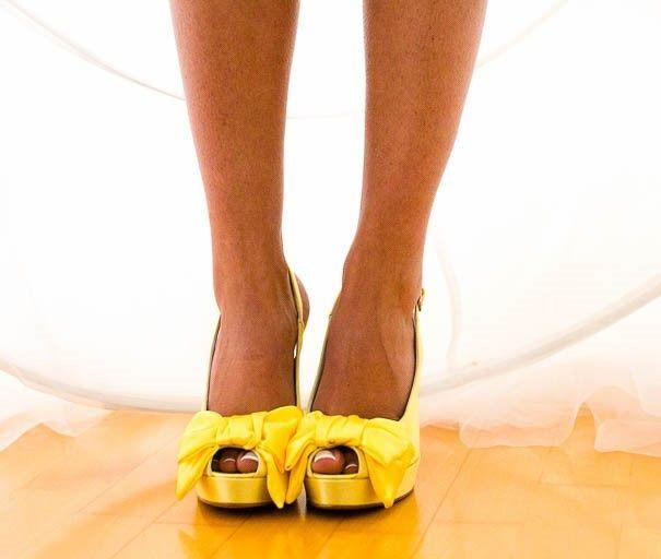 Scarpe da sposa: bianche o colorate? 2