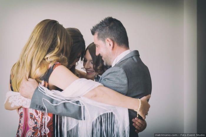 Come hanno reagito i tuo testimoni di nozze? 1