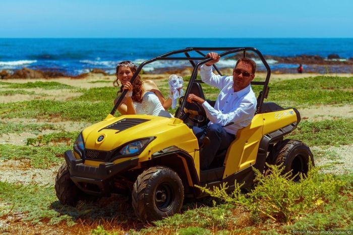 Destination wedding: l'auto 3