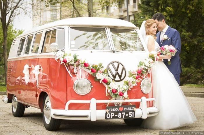 Destination wedding: l'auto 4