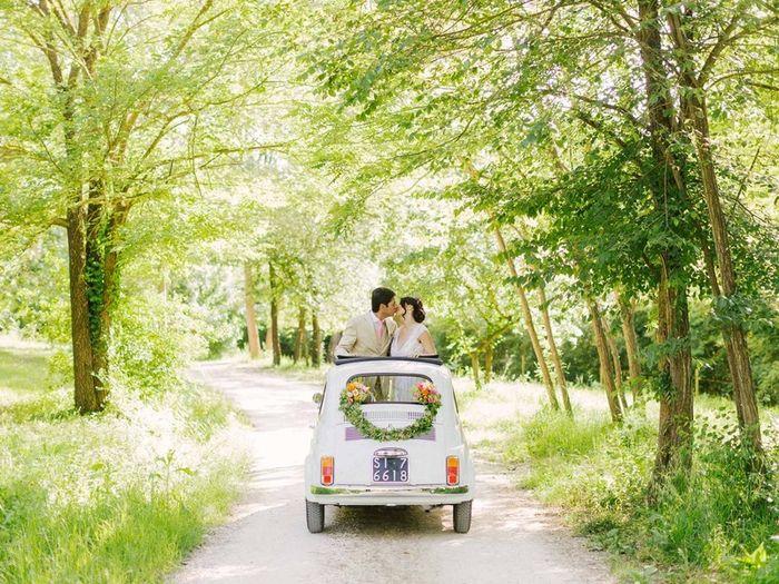 Destination wedding: l'auto 5