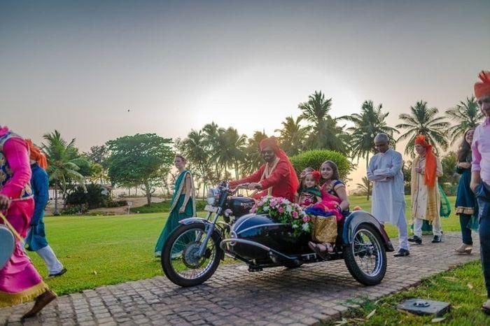 Destination wedding: l'auto 6