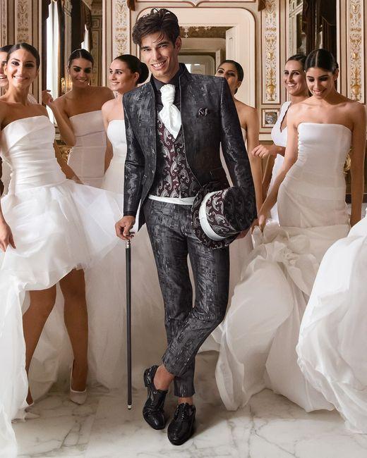 Look sposo: l'abito 3