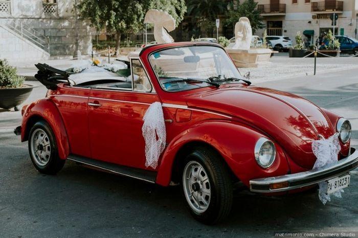 L'auto che noleggerai per le nozze sarà... 1