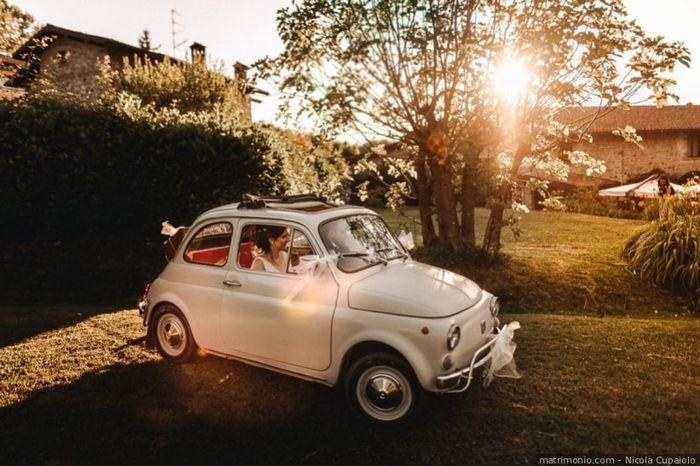 L'auto che noleggerai per le nozze sarà... 4