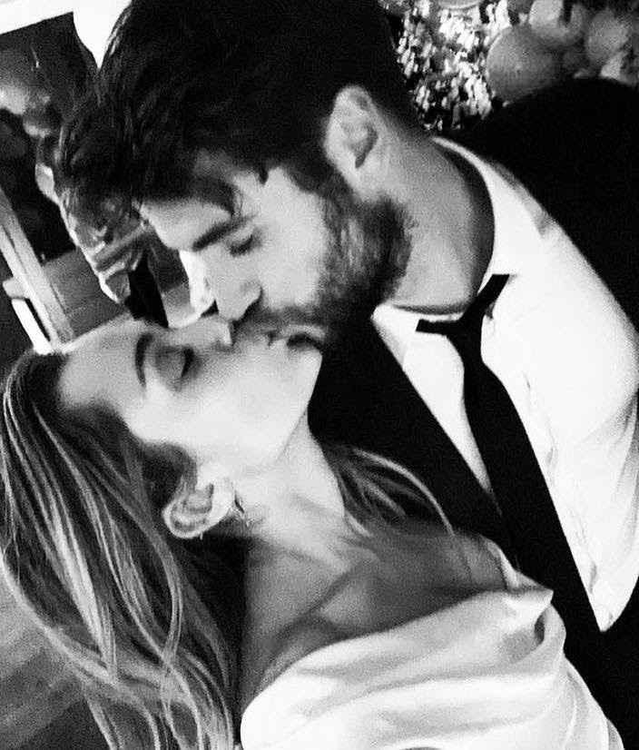 Le nozze di Miley Cyrus 1
