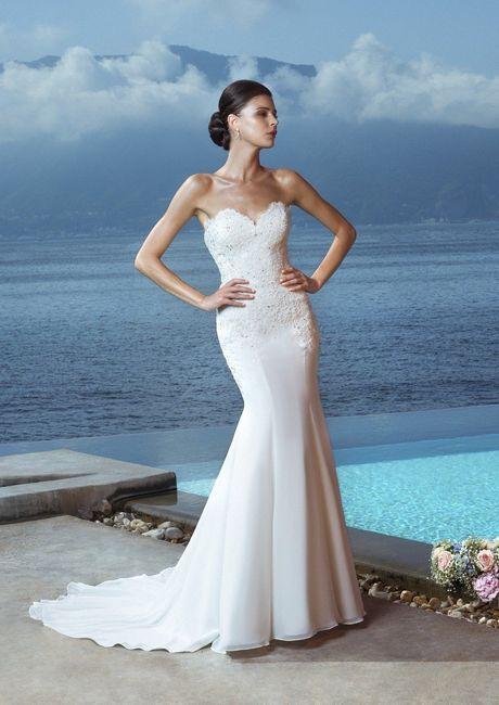 L abito da sposa per le spose magre - Moda nozze - Forum Matrimonio.com 95eebc9f780