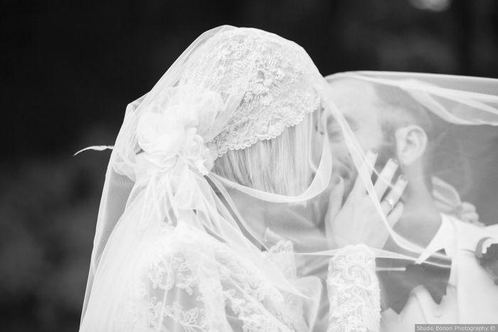 A) Alessandro e Francesca La foto più romantica