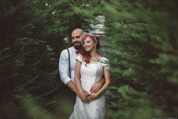 D) Luca e Erica La foto più romantica