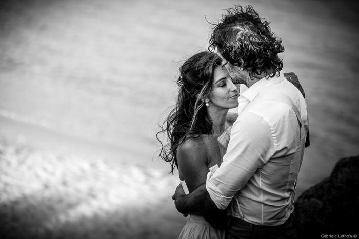 F) Claudio e Deborah La foto più romantica